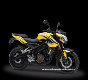 Pulsar 200 NS Yellow
